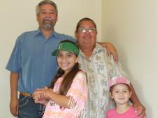 Irma and family
